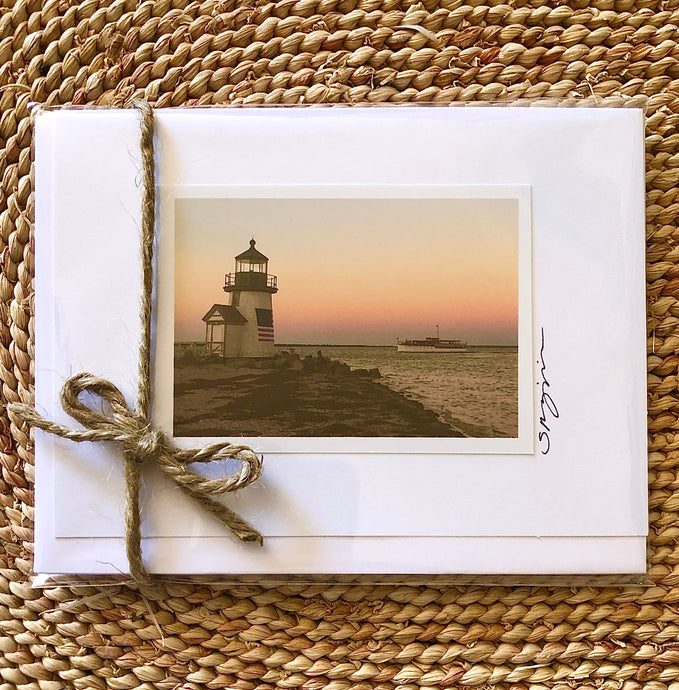 Brant Point Before Sunrise Card Set