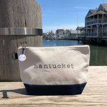 Nantucket Canvas Pouch