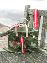 ACK 4170 Camo Canvas Box Tote