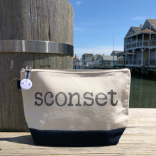 Sconset Canvas Pouch