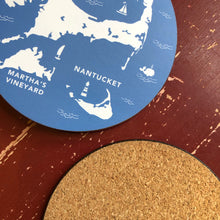 Cape Cod & The Islands Round Coasters