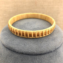 Wide Natural Nantucket Basket Bracelet II