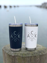 ACK 4170 Stainless Steel Navy 20 oz. Insulated Tumbler