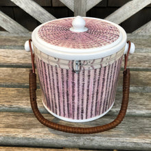 Nantucket Basket Porcelain Ice Bucket