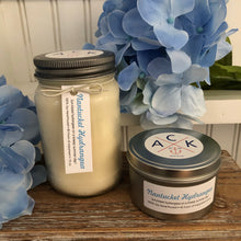 """Nantucket Hydrangea"" Soy Candle Tin"