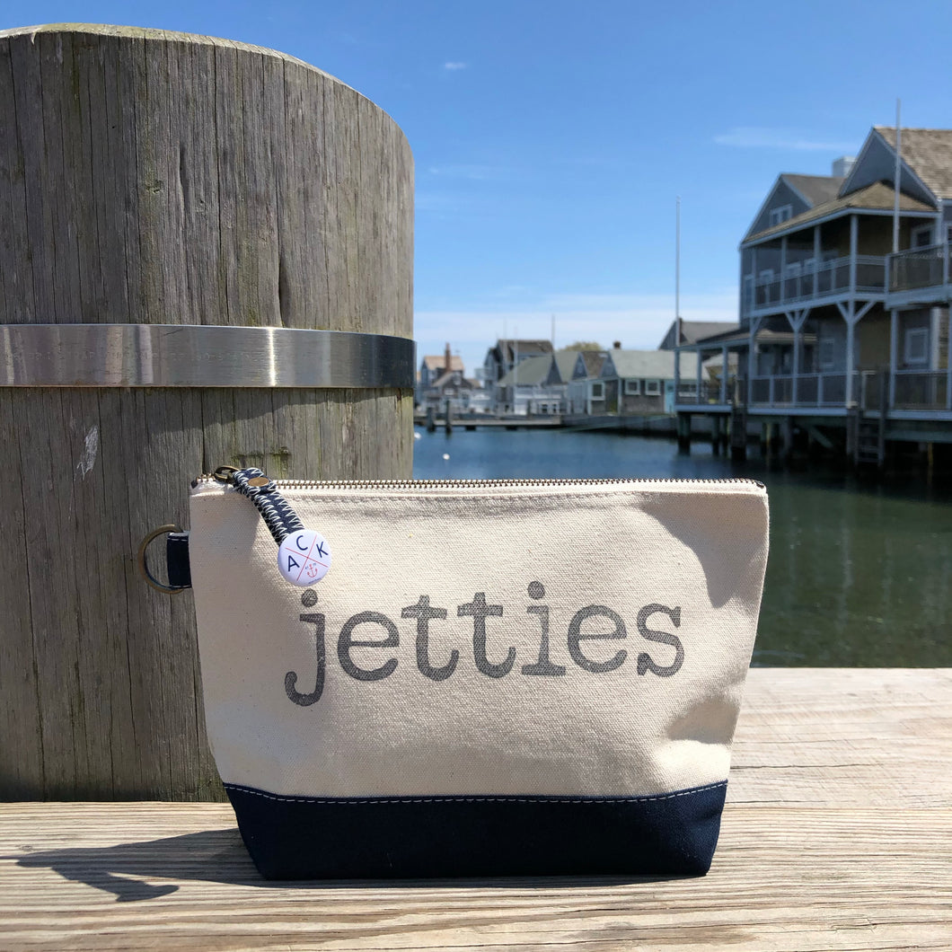 Jetties Canvas Pouch