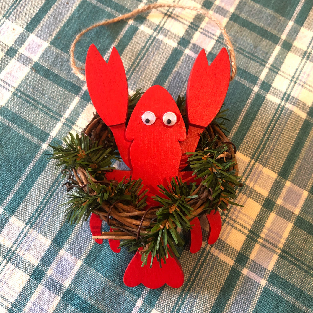 Lusty Lobster Ornament