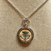Old World Anchor Necklace Large