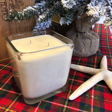 """Nantucket Sleigh Ride"" Soy Candle Etched Votive"