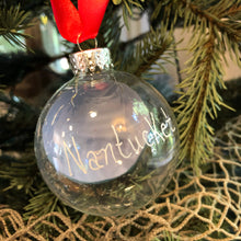 Christmas Dory Hand-Painted Glass Ornament