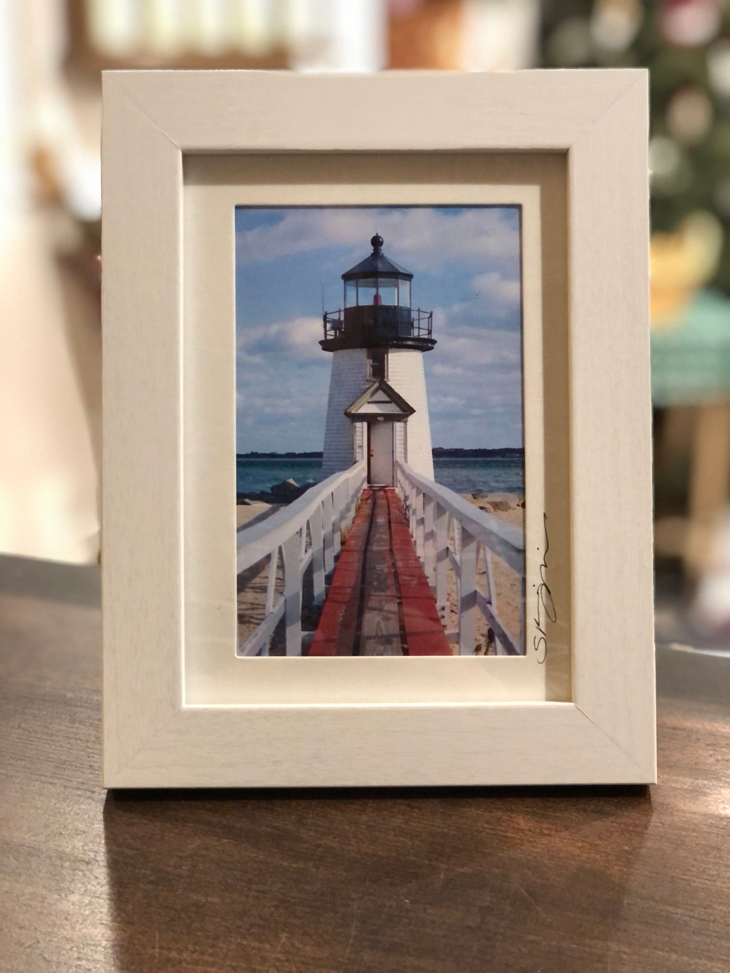 """Before Sunset at Brant Point"" Small Framed Print"