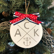 ACK 4170 Wooden Logo Ornament