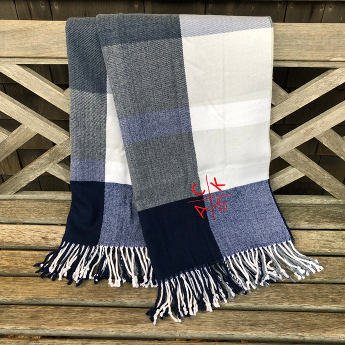 ACK 4170™ Plaid Throw Blanket