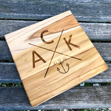 ACK 4170 Teak Trivet / Mini Cheese Board