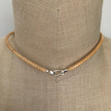 Nantucket Basket Freshwater Flat Grey Pearl Necklace in Silver