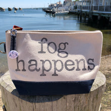 Fog Happens Canvas Pouch