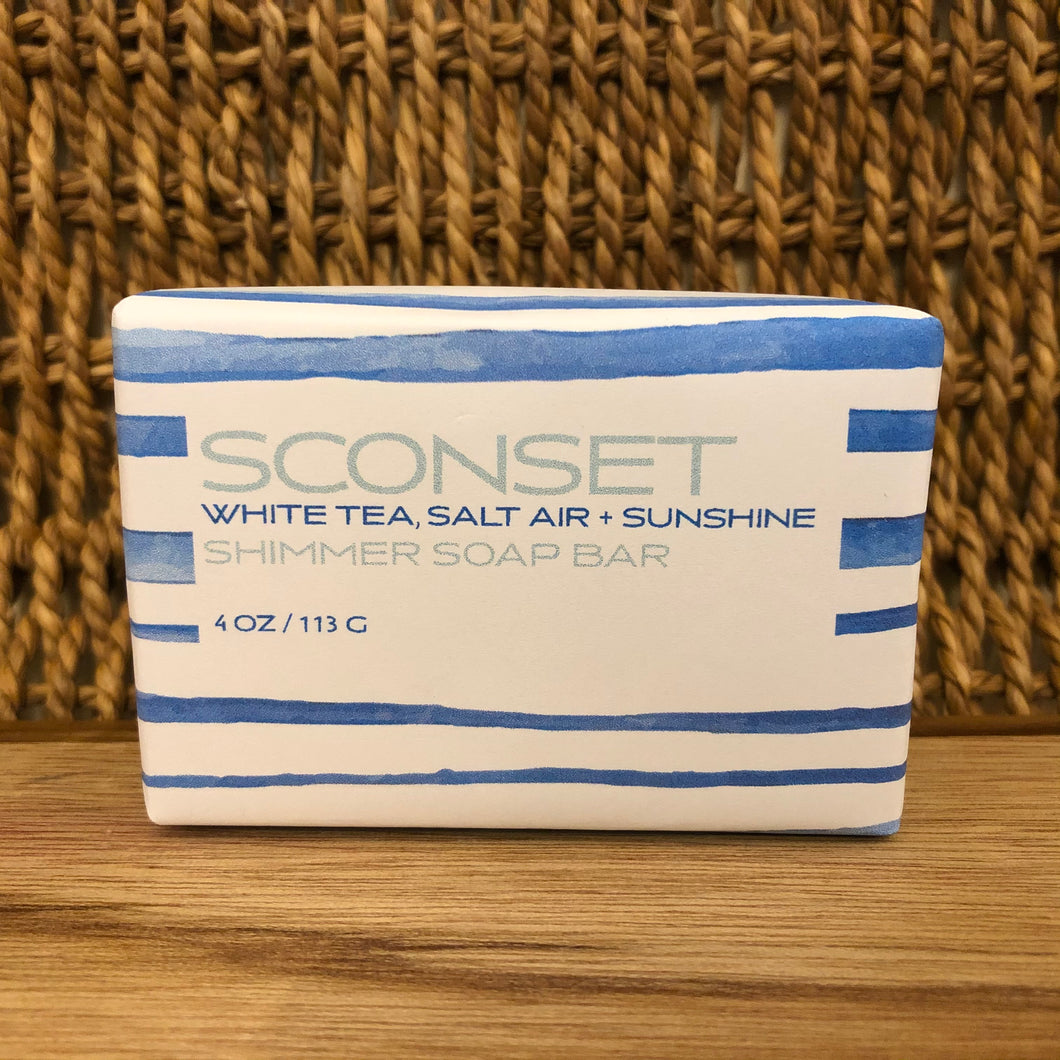 SCONSET Shimmer Soap Bar