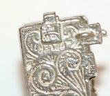 Nuvo Opening English Country Pub Inn Sterling Silver Bracelet Charm 5.6g