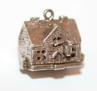 Nuvo Opening Horseshoe Inn Tavern Pub Sterling Silver Vintage Charm 5.3g