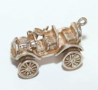 Moving Classic Car Sterling Silver 925 Vintage Bracelet Charm 6.2g
