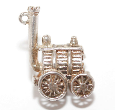 Stephenson's Rocket Train Sterling Silver Vintage Bracelet Charm