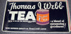 THOMAS J. WEBB TEA ... - c1925 original Trolley Card poster c1925 original Trolley Card poster