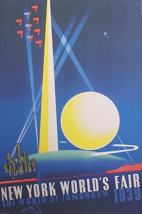 Binder, New York World's Fair 1939 - Poster Plus