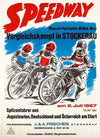 Anonymous,  Speedway  Vergleichskampf in Stockerau, 1967