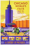 Weimer Pursell, Chicago World's Fair, A Century of Progress - Hall of Science - Numbered Limited Edition