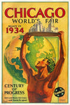 Hernando Villa, Chicago World's Fair, Santa Fe - A Century of Progress - Numbered Limited Edition