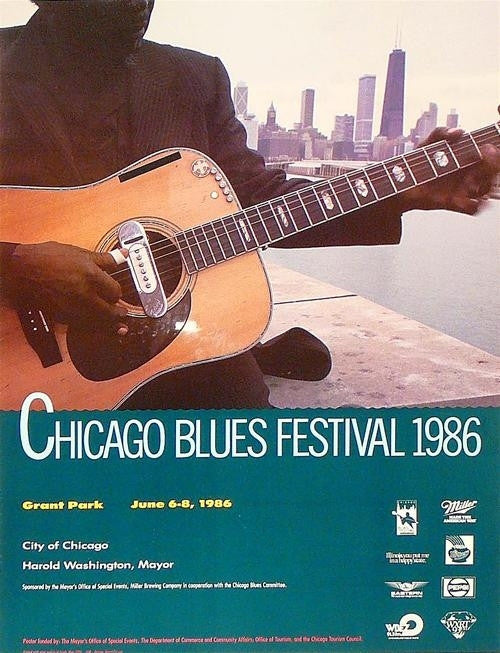 unknown chicago blues festival 1986