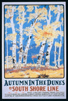 Ivan Beard - Autumn in The Dunes by the South Shore Line