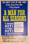 A Man for All Seasons at the Blackstone Theatre, c. 1960