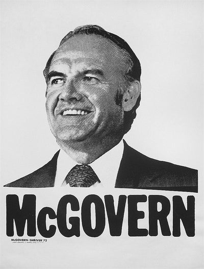 Anonymous, McGovern, 1972 election