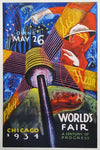 Sandor, Chicago World's Fair, See, Hear, Play 1934 - Numbered Limited Edition