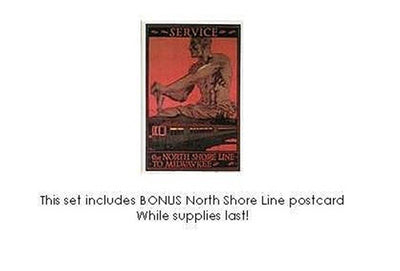 Chicago's North Shore Line Notecard Set Assortment #2