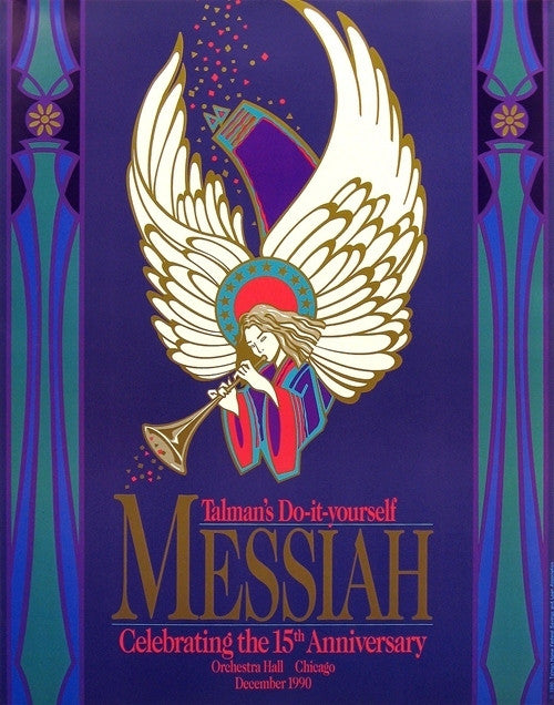 Original vintage posters arts entertainment classical music do it yourself messiah 15th anniversary 1990 solutioingenieria Image collections