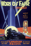 Chicago Worlds Fair Canadian Pacific World's fair 1933