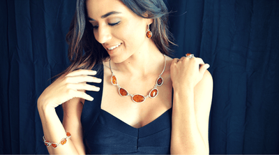 The 8 Best Ways to Style Amber Jewelry