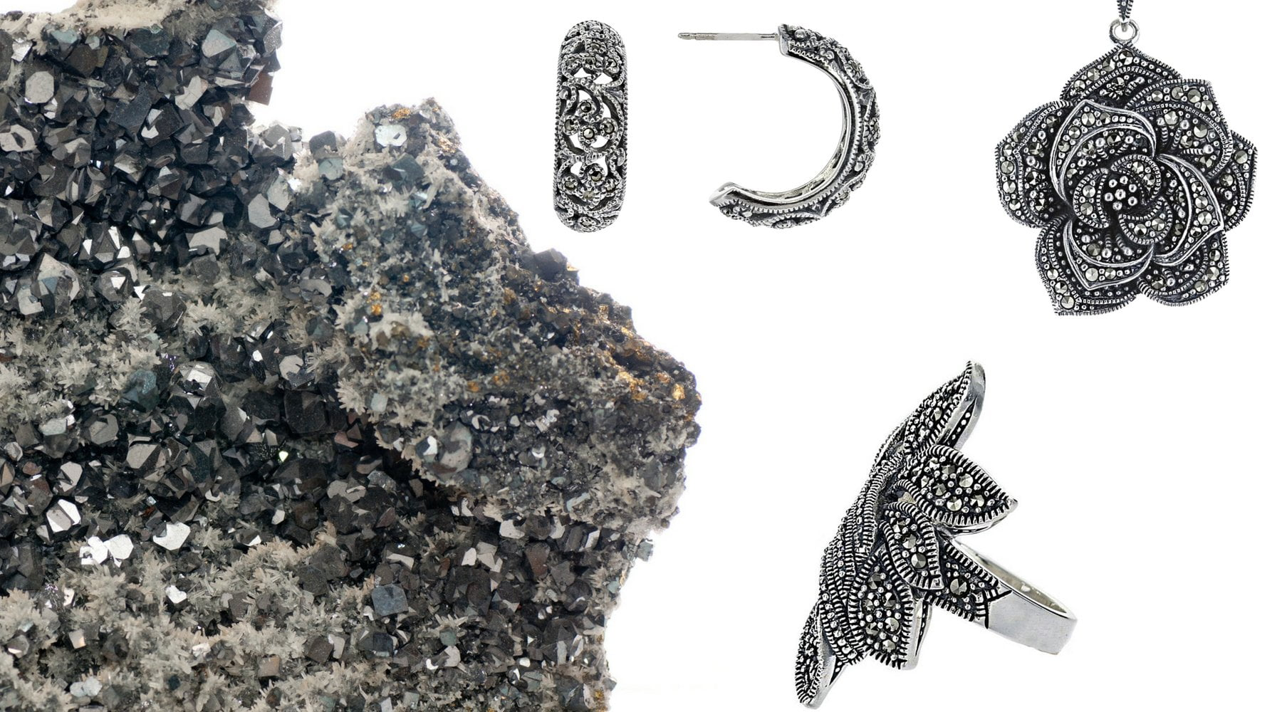 Stunning and Unusual Marcasite Jewelry: Meaning, History, and Healing Powers