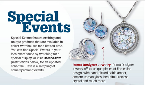 Roma Costco Jewelry Shows