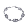 Crystal Collection Bracelets Color / Clear Marquise Swarovski Crystal Bracelet