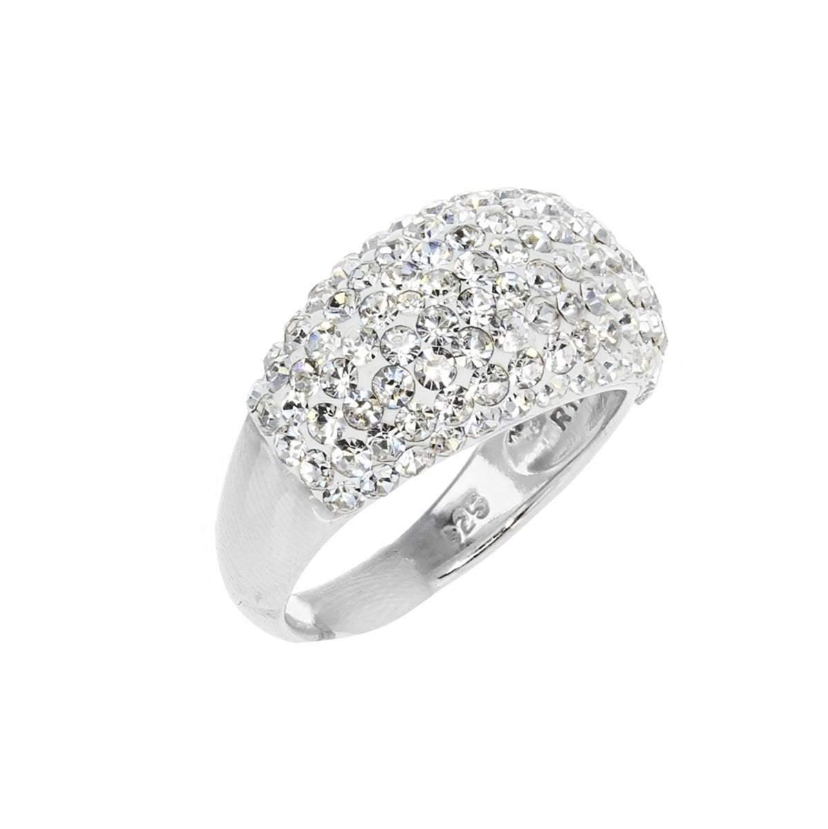 Crystal Collection Rings Swarovski Dome Crystal Ring