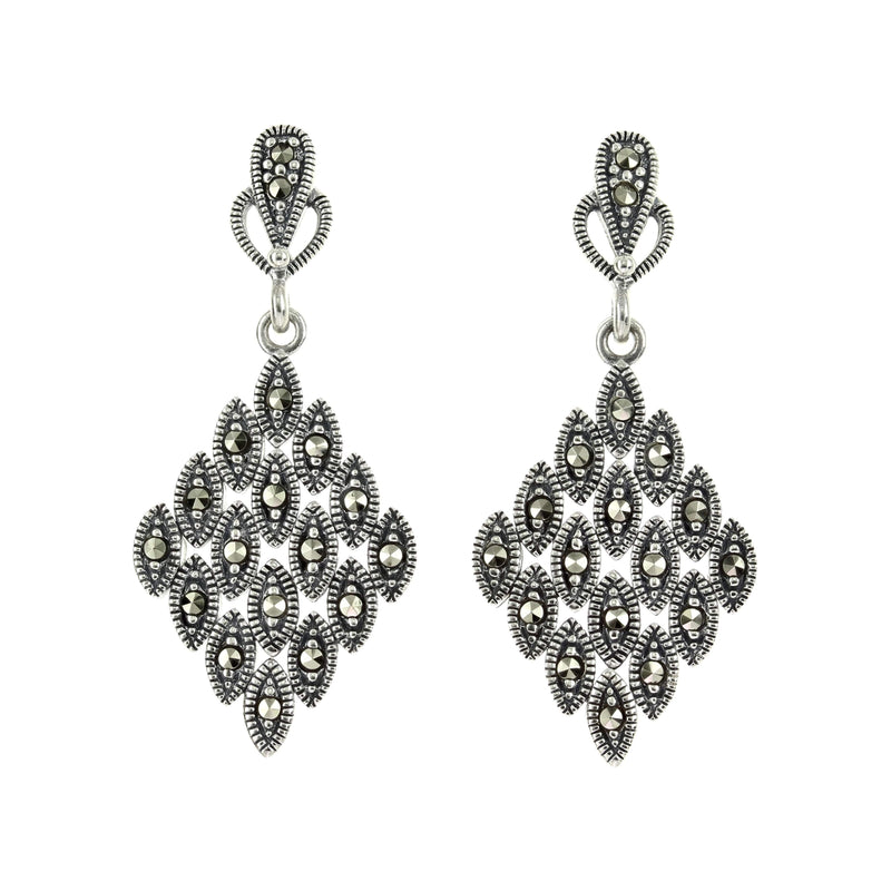 Marcasite Diamond Earrings