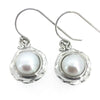 Ocean Collection Earrings Default Title / White / Pearl Freshwater Pearl Nested Earrings