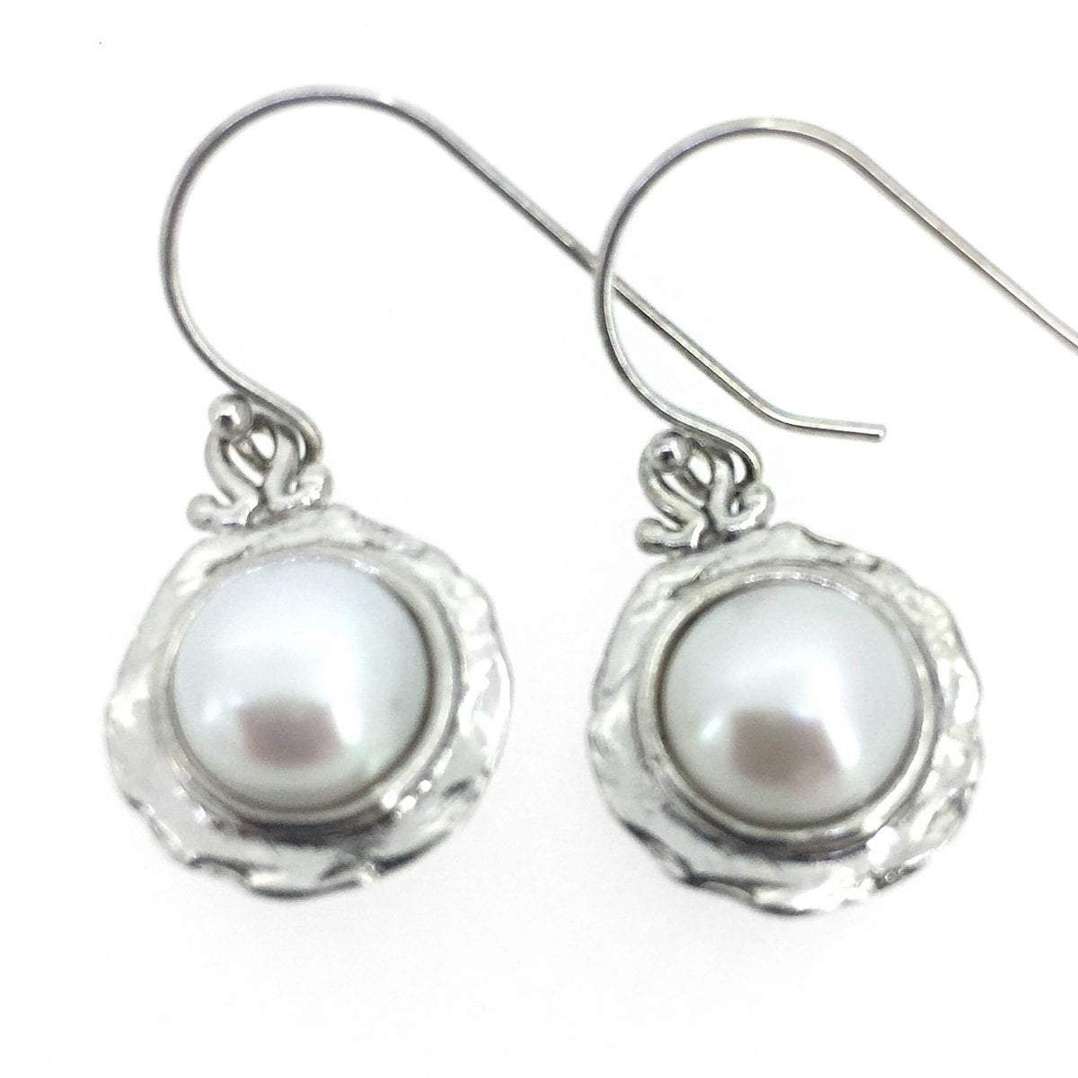 Freshwater Pearl Nested Earrings