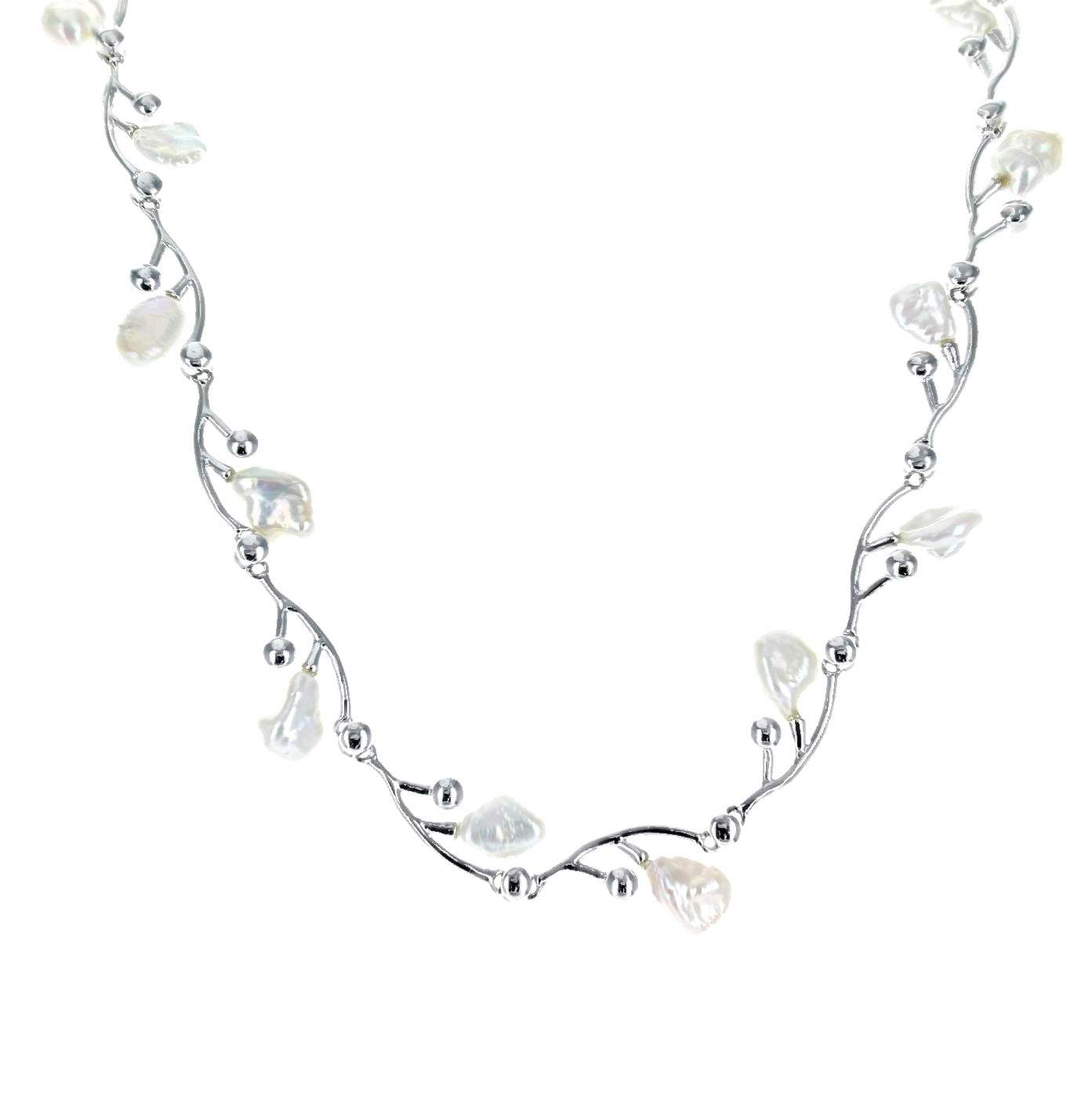 Branched Freshwater Pearl Necklace