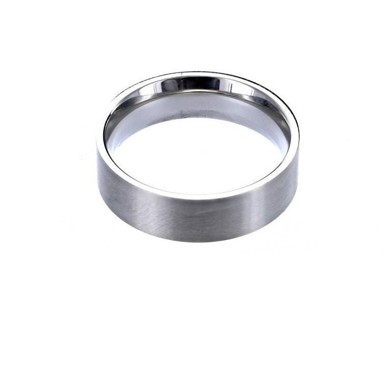 Roma Men's Collection Rings,Clearance,Men's 12 / Stainless Stainless Steel Brushed Comfort Fit Men's Ring
