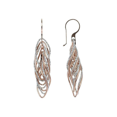 Private Collection Twisted Rose Earring