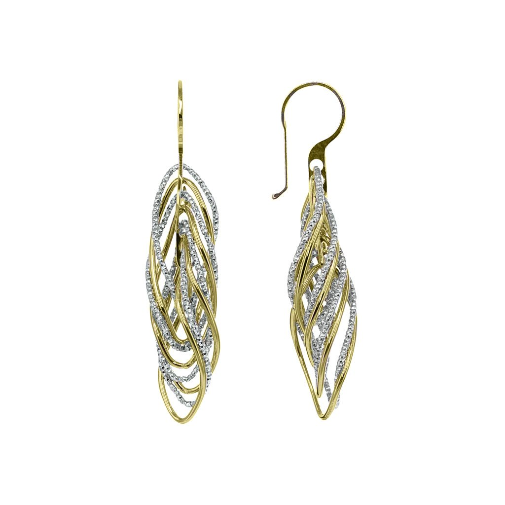 Roma Private Collection Earrings Color / Yellow Private Collection Twisted Gold Earring